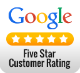 Google 5-Star Ratings: 35 5-Star Reviews and counting!