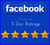Facebook 5-Star Ratings: 245 5-Star Reviews and counting!